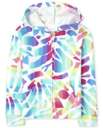 Tia's Pick - Girls Fleece Zip Up Hoodie