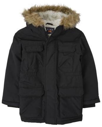 Boys Parka Jacket