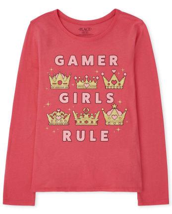 Girls Gamer Graphic Tee