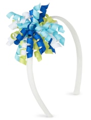 Girls Curly Headband - Under The Sea