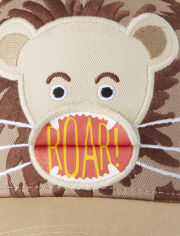 Boys Peek-A-Boo Lion Hat - Summer Safari