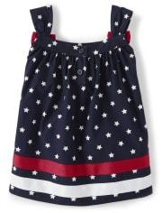 Girls Star Swing Top - American Cutie