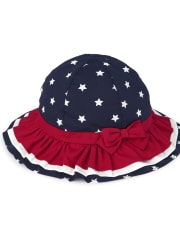 Girls Star Bucket Hat - American Cutie