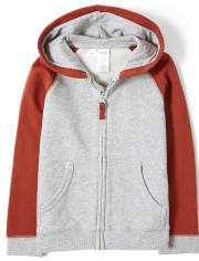 Boys Zip Up Hoodie - Every Day Play