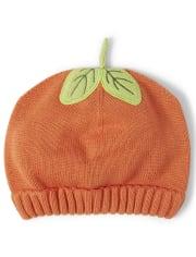Unisex Girls And Boys Pumpkin Beanie - Lil' Pumpkin
