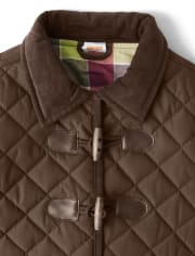 Girls Quilted Jacket - Pony Club