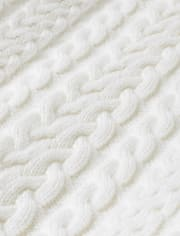 Boys Cable Knit Sweater - Harvest