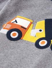 Boys Demolition Dude Cotton 2-Piece Pajamas - Gymmies