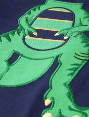 Boys Dino Cotton 2-Piece Pajamas - Gymmies