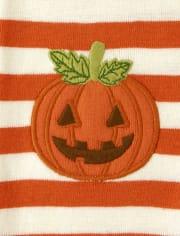 Boys Lil' Pumpkin Cotton 2-Piece Pajamas - Gymmies