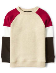 Boys Colorblock Sweatshirt - Moose Mountain