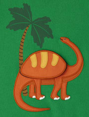 Boys Peek-A-Boo Brontosaurus 2 In 1 Top - Dino Roar