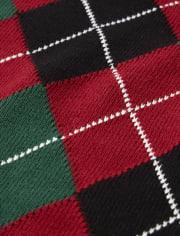 Boys Argyle Sweater Vest - Picture Perfect