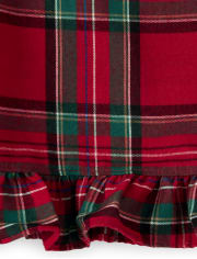 Girls Matching Family Plaid Flannel Nightgown - Gymmies
