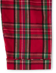 Unisex Adult Matching Family Plaid Flannel 2-Piece Pajamas  Gymmies