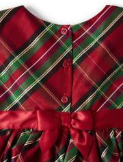 Girls Tartan Plaid Dress - Picture Perfect