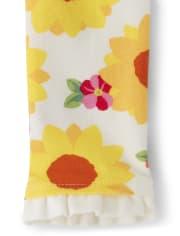 Girls Flower Peplum Dress - Every Day Play