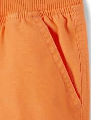 Boys Pull On Cargo Shorts - Future Astronaut