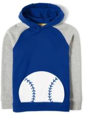 Boys Baseball Hoodie - Lil Champ