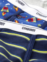 Boys Space Briefs 3-Pack
