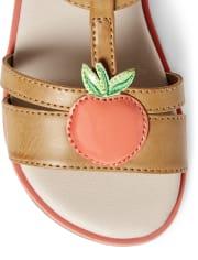 Girls Sandals - Pretty Peach