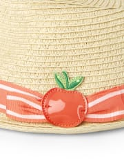 Girls Fedora - Pretty Peach