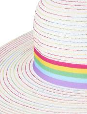 Girls Rainbow Sun Hat - Sunshine Time