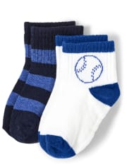 Boys Midi Socks 2-Pack - Lil Champ