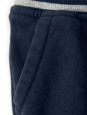Boys Knit Cargo Shorts