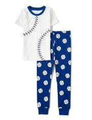 Boys Lil Champ Cotton 2-Piece Pajamas - Gymmies