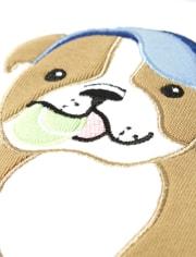 Boys Tennis Dog Cotton 2-Piece Pajamas - Gymmies