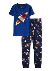 Unisex Future Astronaut Cotton 2-Piece Pajamas - Gymmies