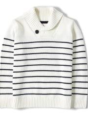Boys Striped Nautical Sweater - All Aboard