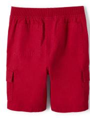 Boys Pull On Cargo Shorts
