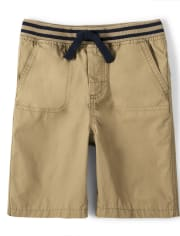 Boys Knit Waist Pull On Shorts