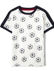 Boys Soccer Top - Ready, Set, Goal