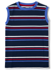 Boys Striped Tank Top