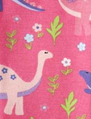 Girls Dino Leggings - Hello Dino