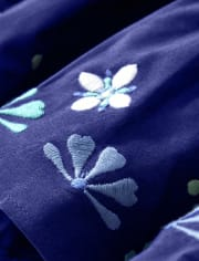 Girls Floral Medallion Tiered Dress - Island Getaway
