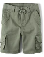 Boys Cargo Shorts - Safari Camp