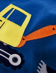 Boys Truck Tank Top - Mr. Fix It