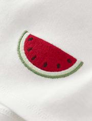 Girls Watermelon Bow Top - Sweet Watermelon