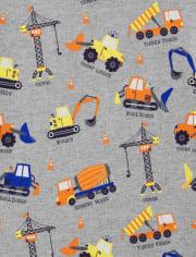 Boys Construction Top - Mr. Fix It
