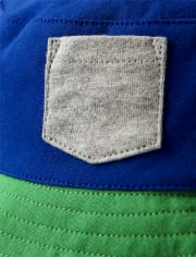 Boys Colorblock Bucket Hat - Critter Camp