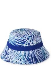 Boys Reversible Bucket Hat - Island Getaway