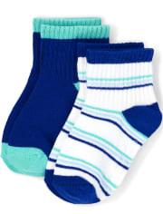 Boys Midi Socks 2-Pack - Island Getaway
