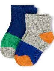 Boys Midi Socks 2-Pack - Mr. Fix It