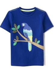 Boys Parrot Top - Island Getaway