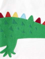 Boys Alligator Patch Top - Critter Camp
