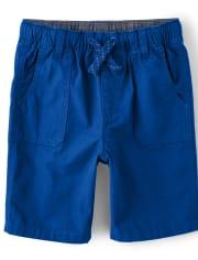 Boys Pull On Shorts - Mr. Fix It